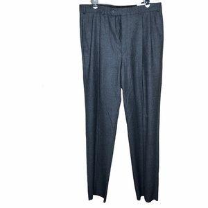NWT Brooks Brothers grey wool career dress pants